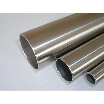 en longueurs de /à 2000/mm 1/1//2 B /& T Acier Tube rond m/étal galvanis/é /Ø 48,3/x 3,2/mm 0//3/mm construction Tube ST37/chaud Profil creux