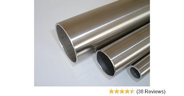 "0,5m Rohr 60,3 x 2  EDELSTAHL V2A K240 Edelstahlrohr 50cm 2/"" 2 Zoll Rohr 60mm"
