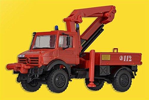 Kibri 18271 - H0 Feuerwehr Unimog mit Palfinger-Kran