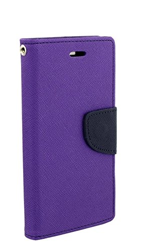 Alphin Royal Dairy Style Flip Cover For LG G2 (ORCHID PURPLE)  available at amazon for Rs.197