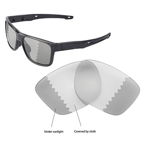 Walleva Ersatz Linsen für Oakley crossrange-Verschiedene Optionen, Transition - Polarized