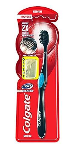 Colgate Oral Care 360 Brosse à Dents pour Homme Taille M