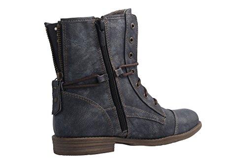 Mustang Damen 1157-551-820 Stiefel Blau