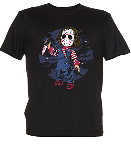 Jason Voorhees Scary black Small ()