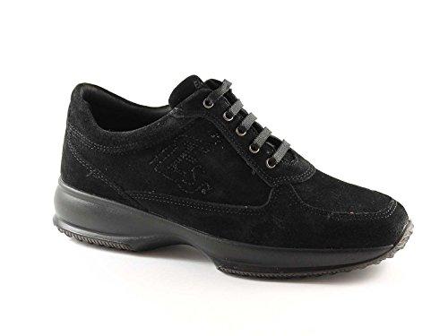 ENVAL SOFT 29843 nero scarpe donna sportive zeppetta lacci 41