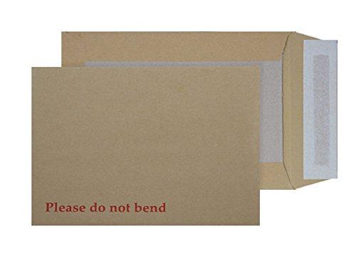 Purely C5 5112 - Paquete de sobres autoadhesivos con base de cartón (papel de manila, 229 x 162 mm, 125 unidades)