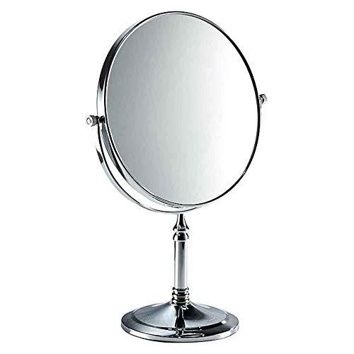 MYTXING Kosmetikspiegel Wasserdichter Kosmetikspiegel Frisiertisch Mit 1x / 3X 360 ° Drehbarem Vergrößerungsspiegel Badezimmerspiegel Mit Stabiler Basis 6 inches -