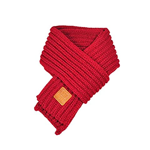 Baby Scarf,Saingace 1 Pcs Lovely Autumn Winter Boys Girls Baby Kid Solid Scarf Warm Knitted Scarves