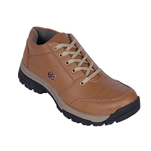 Darcey Men Woodland Style 21018-Tan Leather Outdoor Size- 6  available at amazon for Rs.499