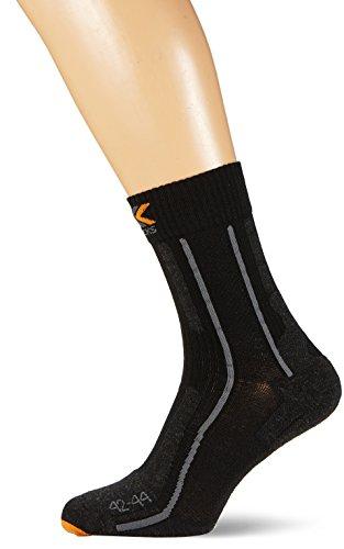 X-Socks Erwachsene Funktionssocken Trekking Merino Light, Black, 42/44