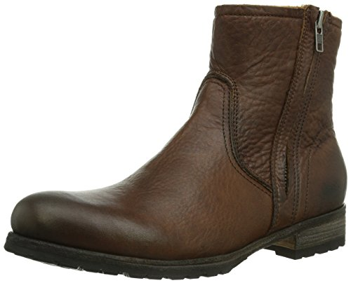 Blackstone  FLOW FUR OLD YELLOW, Bottes Classics courtes, doublure chaude homme Marron - Braun (old yellow)