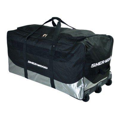 Sherwood Eishockeytasche SL 800 Goalie Wheel Bag, Schwarz, 111 x 56 x 55 cm, 92 Liter, 80067