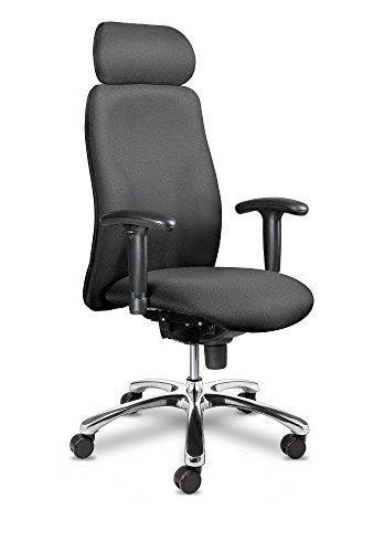 Chefsessel Indiana XXL bis 150 kg mit Armlehnen Schwerlaststuhl Bürostuhl Drehstuhl