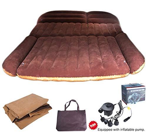 to Luftmatratzen Luftbett Camping Matratze aufblasbar Isomatte Auto SUV MVP mit Pumpe ()