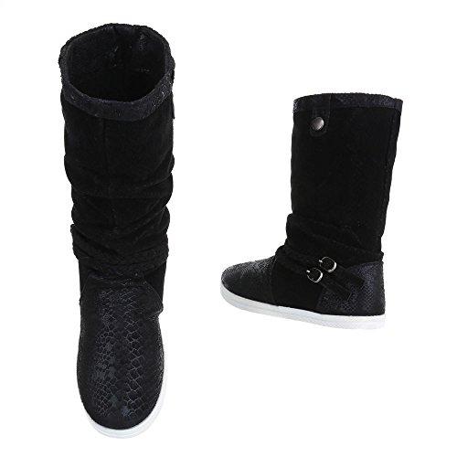 Femme Mq1286 Fc Nnbx5a Schwarz Chaussures Bottes F113 XP4UvxwPq
