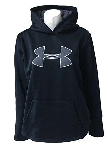 Under Armour Womens UA Storm Big Logo Hoodie Athletic Shirt (Small, Black) (Hoodie Logo Armour Womens Under)