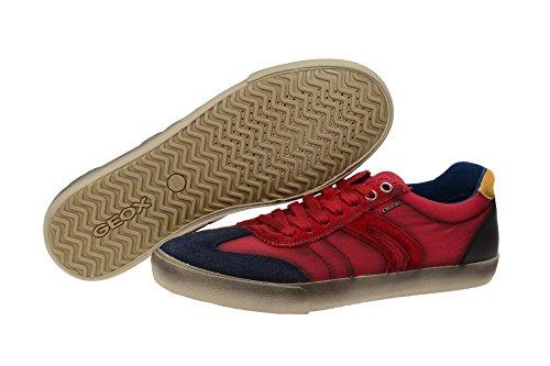 GeoxGeox Respira Smart A Sneakers in rot Herrenschuhe 2016 - Sneaker Uomo Rot