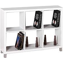 Kit Closet Kubox - Estantería, 6 huecos, color blanco
