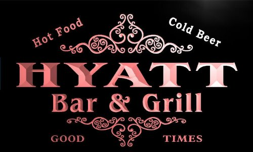 u21402-r-hyatt-family-name-bar-grill-home-beer-food-neon-sign-enseigne-lumineuse