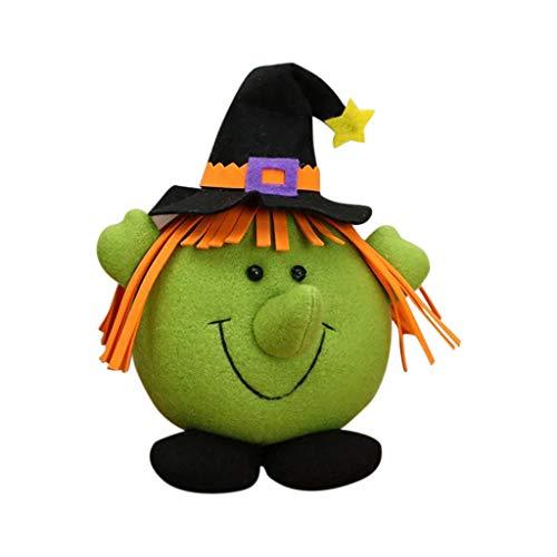 bobo4818 Geschenk Mädchen 5 Jahre Halloween Dekorationen Glühend Papier Laternen Dekorativ Requisiten für Holloween Party (A) -