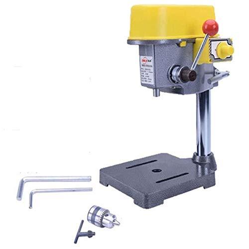 Dream Edge 220V 450W Bohrmaschine Minibohrmaschine Radialbohrmaschine for Bench Maschinentisch Bit Chuck Drill Werkzeug zur Holz
