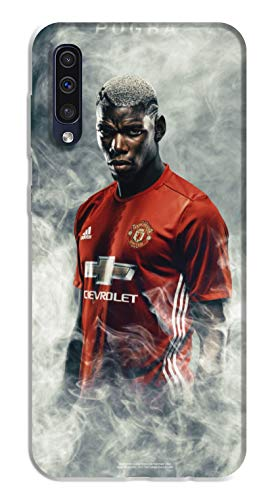 WorldSell Cover Morbida in TPU Samsung A50 Sport 059 Pogba