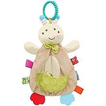 0a93f652c Toalla apaciguar a juguetes de dibujos animados bebé relleno de la felpa de  la abeja de