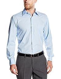 BlueBlack Herren Regular Fit Business Hemd Valerio, langarm, bügelfrei