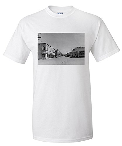 sumas-wa-view-of-downtown-street-photograph-premium-t-shirt