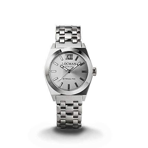 orologio solo tempo donna Locman Stealth casual cod. 020400AGFNK0BR0