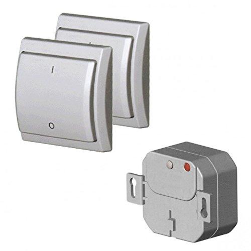 Novatys - Juego de interruptores inalámbricos
