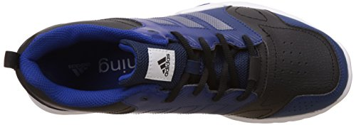 adidas Essential Star 3 M, Chaussures de Fitness Homme, Noir Multicolore (Cblack/silvmt/croyal)