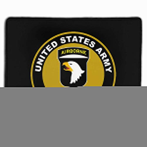 Army 101st Airborne Division Subdued Veteran Home Mouse Pads Mousepad Computer Mats 9.8' X 11.8'
