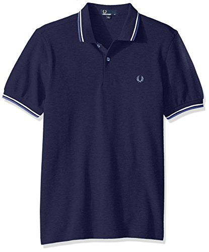 Fred Perry Herren Poloshirt Blu (Carbon Blue)