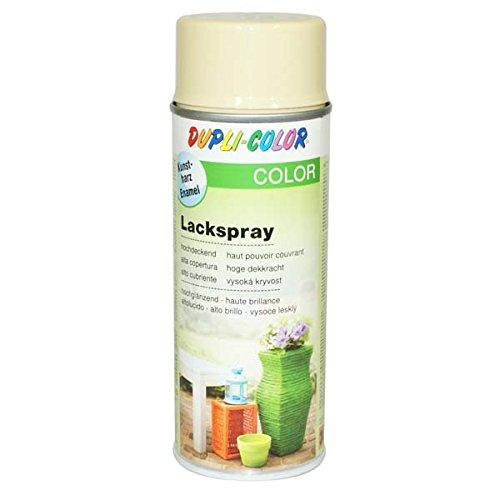 Beige-deck-matte (Dupli-Color 466571 Lackspray elfenbein glänzend 400 ml)