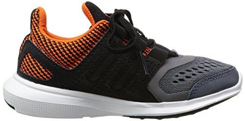 adidas Hyperfast 2.0 K, Mocassins Garçon Naranja / Gris / Negro (Naranj / Onix / Negbas)