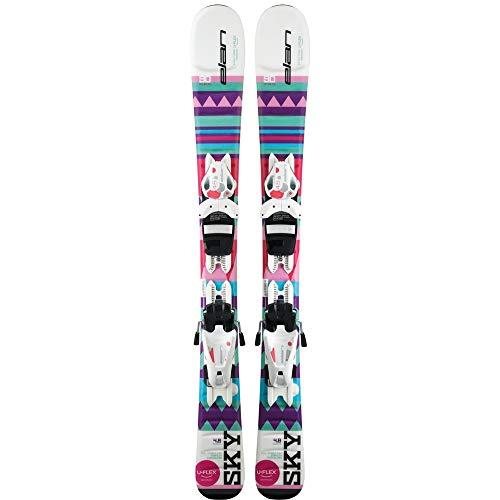 Elan (ELAQM) Kids Elan Early Rise Rocker Sky Quick Shift Ski, Größe 80 cm, Mehrfarbig, 80