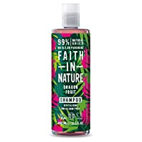 Faith in Nature Natural Dragon Fruit Shampoo, Revitalising Vegan & Cruelty Free, Parabens and SLS Free, for All Hair…