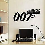 stickers muraux stickers muraux chambre Stickers muraux décoratifs James Bond 007 Citer Sticker mural salon 007 chambre des fans