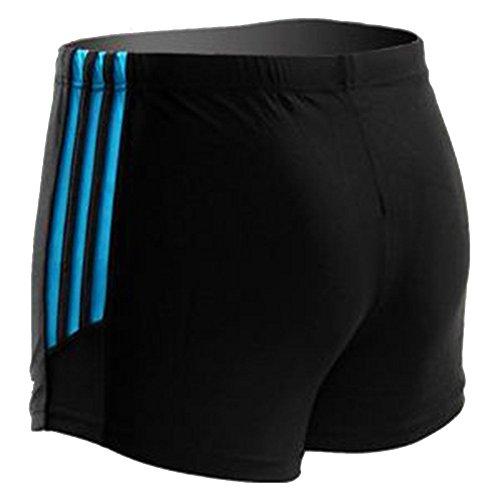Moollyfox Hommes Quatre Couleurs Séchage Rapide Maillots de bain Shorts Lac Bleu