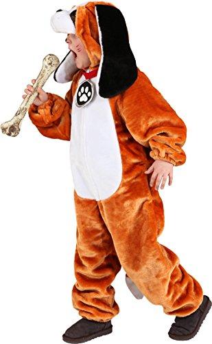 Welpen Kostüm Kinder - O5230-140-152 Kinder Bernhardiner Kostüm Hund Welpe Gr.140-152