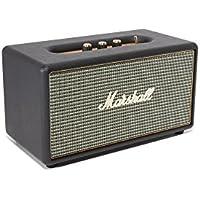 Marshall Stanmore - Altavoz inalámbrico (Bluetooth 4.0, 80 W, Bass-Reflex, Entrada Auxiliar DE 3.5 mm, 100-240 V), Color Negro