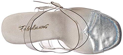 Fabulicious Damen Gala-08mg Offene Sandalen Transparent (Clr/Clr)