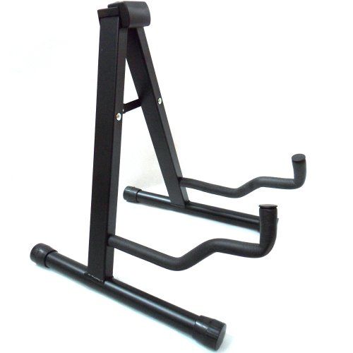 raygar-guitar-stand-foldable-universal-a-frame-style-guitar-stand-black-for-acoustic-electric-guitar