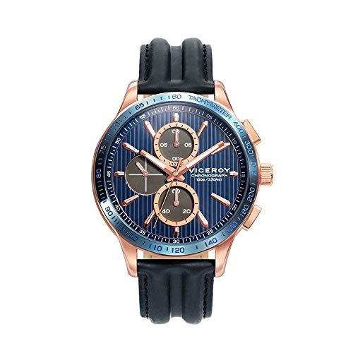 Montre Viceroy Homme Heat Crono Azul-Rosado 471177–37