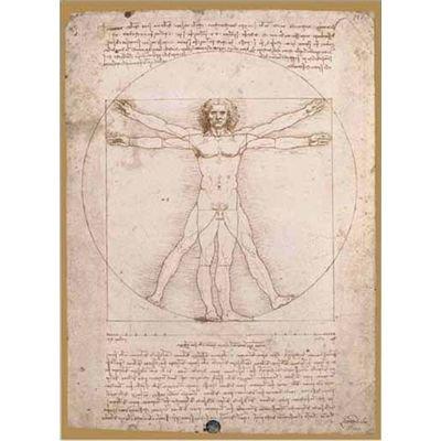 Editions Ricordi 5901N15706A - Leonardo da Vinci, L'uomo Vitruviano, Puzzle da 1500 pezzi