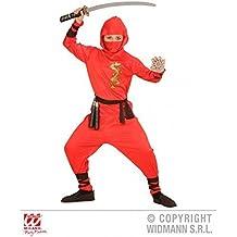 Simple Disfraz de Ninja / Disfraz infantil Rojo Dragon Ninja para Disfraz Para Niños Talla 158 = L