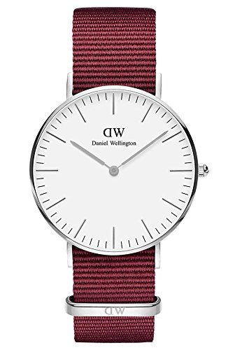 Daniel Wellington Unisex Adult Analogue Quartz Watch with Nylon Strap DW00100272