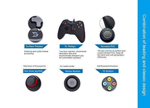 ZD T Gaming USB Wired Controller Gamepad For PC(Windows XP/7
