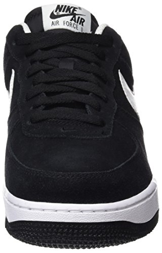 Nike Herren Air Force 1 07 Sneaker Schwarz (Black / White)